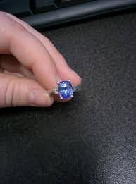 light blue sapphire ring real engagement rings sapphires