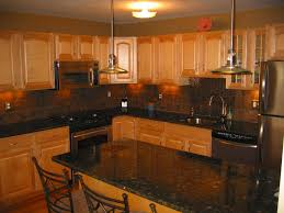 oak cabinets and paint color exclusive home design