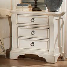 distressed white furniture table side new look distressed white