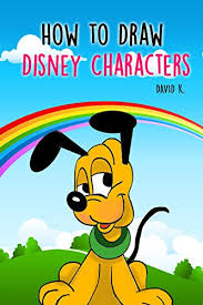 draw disney characters step step disney characters