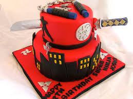 ninja birthday cake cakecentral com