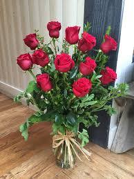 dozen roses traditional dozen in agoura ca flower power studio