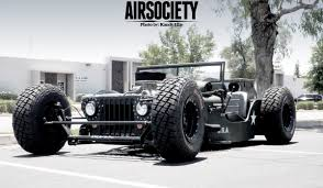 willys jeep truck lifted chopped and dropped 1945 jeep willys cj 2a rat rod fast