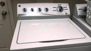 kenmore he high efficiency washer noise youtube