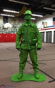 Army Halloween Costumes Mens Toy Soldier Costume