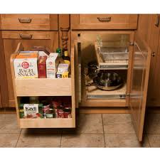 what to do with blind corner cabinet kitchenmate blind corner cabinet organizer by omega