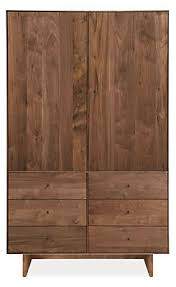 armoires for bedroom hudson armoires with wood base modern bedroom furniture