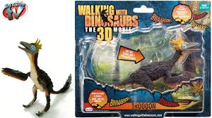 walking with dinosaurs the 3d movie troodon sound figure toy