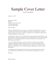 Child Care Job Resume Awesome Collection Of Example Cover Letter For Child Care Job Also