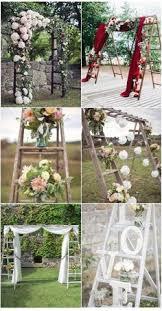 wedding arch ladder falkner winery rustic wedding arch pinteres