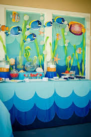 the sea party ideas i did something like this for hailey with printables and