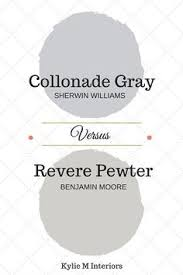 colour review collonade gray vs revere pewter revere pewter
