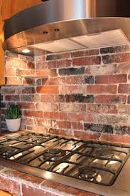 Kitchen With Brick Backsplash How To Install A Brick Backsplash In A Kitchen Bricks Kitchens