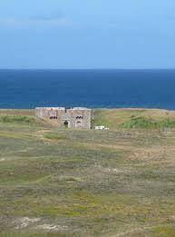 le fort d en tal chambre d hôte insolite sur l ile de houat