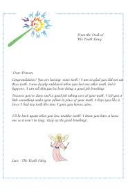 tooth fairy certificate template free 4 best and various