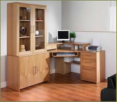 Diy File Cabinet Desk by Corner Desk With Filing Cabinet Home Design Ideas