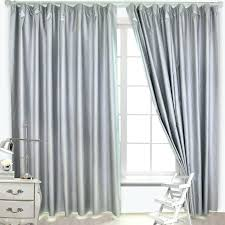 Grey Curtains 90 X 90 Silver Blackout Curtains Teawing Co