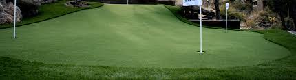 backyard putting greens artificial grass golf greens