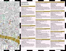 Streetwise Maps Artwise London Museum Map Laminated Museum Map Of London