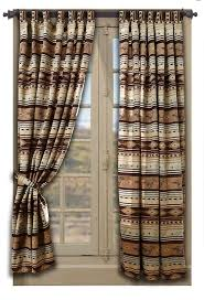 Textured Cotton Tie Top Drape by Best 25 Western Curtains Ideas On Pinterest Primitive Shutters