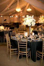 inspiring black and gold wedding table settings 27 on table