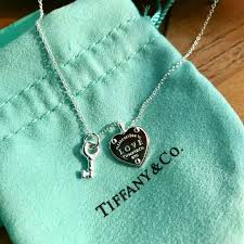 key heart necklace tiffany images Return to tiffany love heart tag key pendant women 39 s fashion jpg