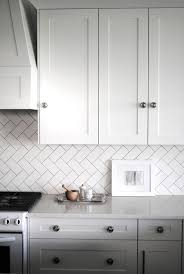 White Backsplash Kitchen 53 Best Black And White Wood Kitchen Images On Pinterest Kitchen