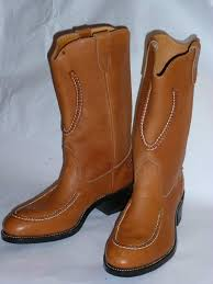 mens tan motorcycle boots vintage 1980s new double h men u0027s cowboy motorcycle boots classic