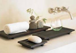 hand carved spa trays bathroom accessories trays tsc