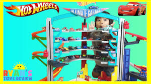 How Big Is A 3 Car Garage by Biggest Wheels Ultimate Garage Playset Shark Attack Disney