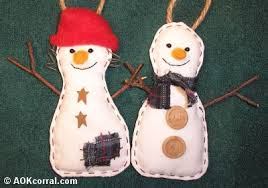 snowman ornaments pattern make a snowman ornament craft project