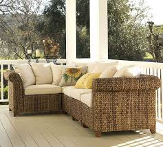 Pottery Barn Seagrass Sectional Furniture Natural Seagrass Furniture For Eco Friendly Furniture