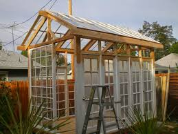 Greenhouse Windows by The Art Of Up Cycling Garden Shed Old Windows Bottles Awesome