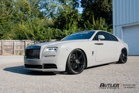 roll royce wraith on rims rolls royce vehicle gallery at butler tires and wheels in atlanta ga