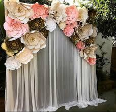 wedding backdrop paper flowers paper flower for back drop wedding drop flower