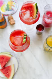 summer cocktail recipes watermelon ginger aperol spritz cocktail