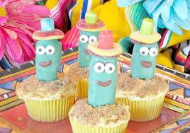 sombrero candy and cactus cupcakes val event gal