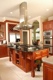 kitchen island hoods pleasing best range hoods with wood trim recessed lighting arch