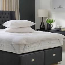 hypnos luxury mattress topper juliettes interiors chelsea london