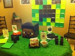 Minecraft Party Centerpieces by 64 Best Images About Mine Craft Party On Pinterest Portal