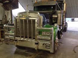 new kenworth semi kenworth semi truck aluminum bumpers aluminum truck defender