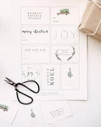 free printable holiday gift tags u2014 mandi nelson