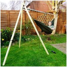 single tree hammock stand 8 replies to u201chow to u2026 make a free