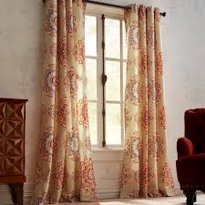 108 In Blackout Curtains by Suzani Jewel Curtain 108 Window Treatments U003e Curtains