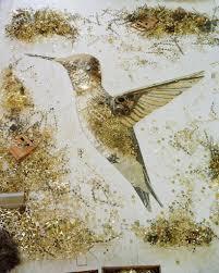 vik muniz hummingbird scrap metal 2012 available for sale