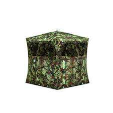hunting blinds hunting gear supplies the home depot grounder 250 2 person hub blind woodland camo
