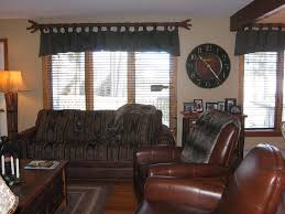scrunch tab valance brown eyed custom curtains