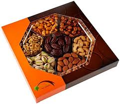 fruit gifts by mail five gift baskets gourmet food nuts gift basket