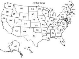 united states map with state names and capitals quiz for geography geography maps us map postal abbreviations