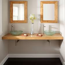 Handmade Bathroom Accessories by Bamboo Bathroom Sinks